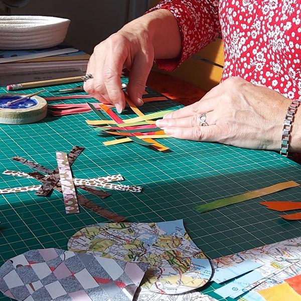 Paper weaving - 2Minty Studio