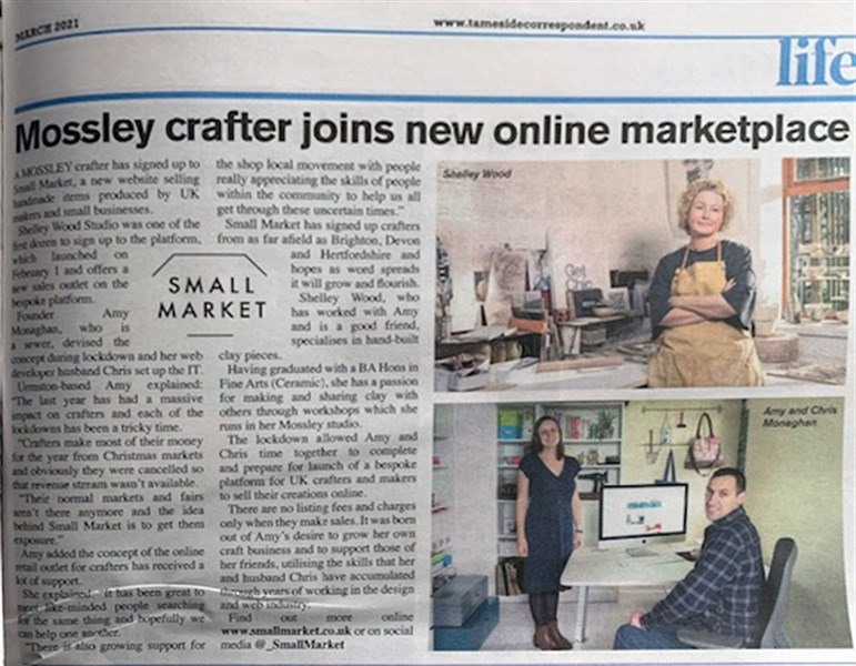 Newspaper Feature Image Small Market