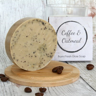 Coffee and Oatmeal Soap Image
